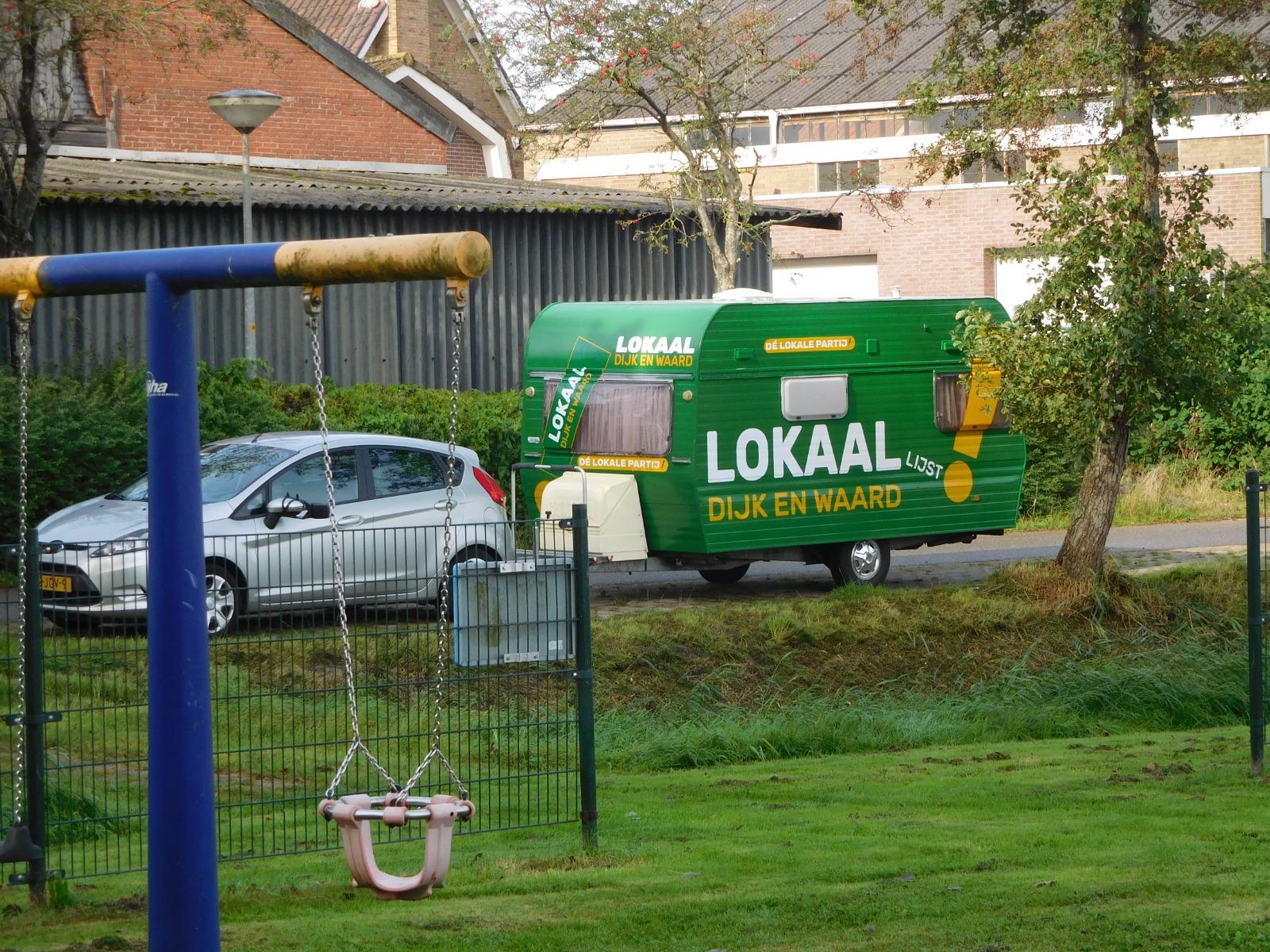Lokaal Dijk en Waard op volle toeren!